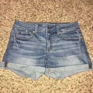 American Eagle Super Super Stretch Denim Shorts